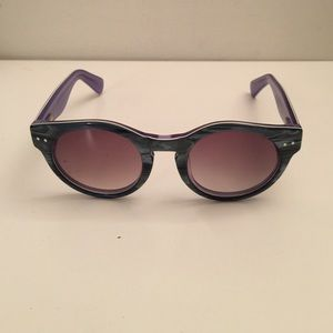 Super Sunglasses Accessories - Trendy round acetate horn sunglasses