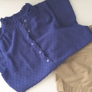 J. Crew Factory Tops - J. Crew sleeveless shirt