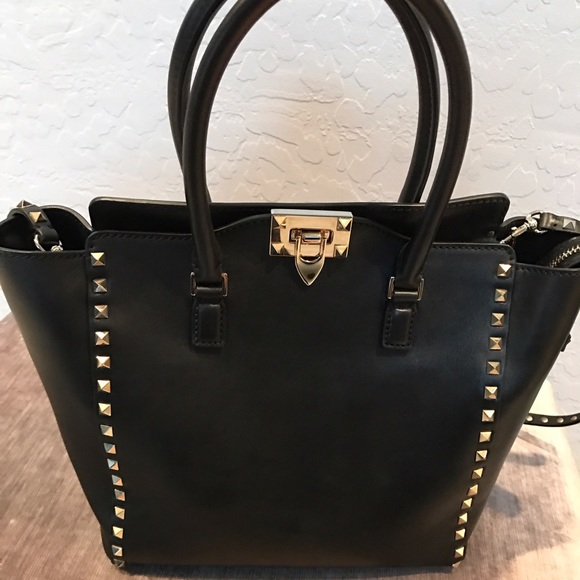 28a3f11d99b Valentino Bags   Rockstud Pagoda Shopper Tote Bag   Poshmark