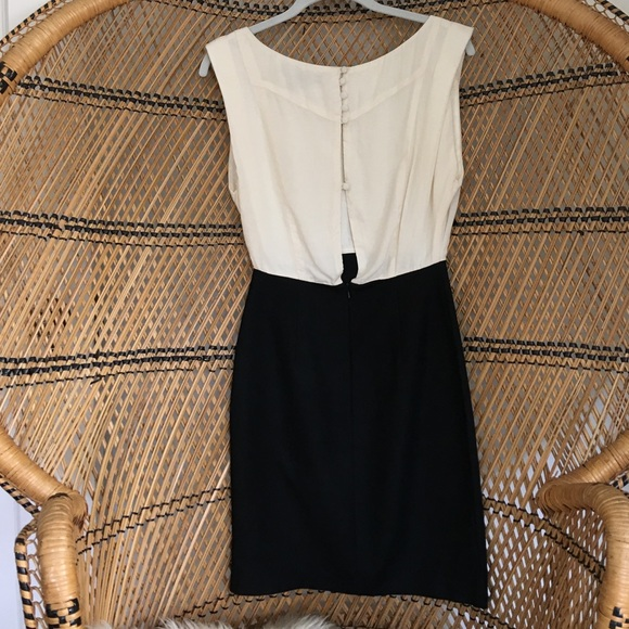 French Connection Dresses - French Connection Black and Cream Dress