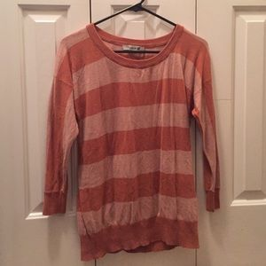 Striped, 3/4 Sleeve Forever 21 Top