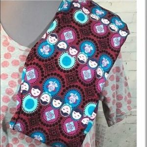 Lularoe new OS Russian Dolls leggings