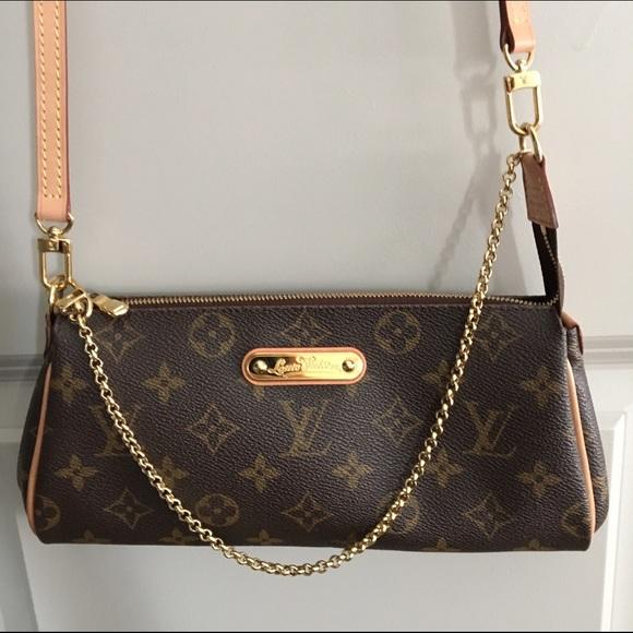 ba75dc3ffd8e Louis Vuitton Handbags - 🔥 Louis Vuitton Eva Monogram Canvas Clutch Bag 💖