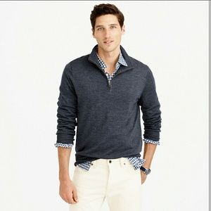 J. Crew Other - Men's J.crew Gray 1/2 ZIP SWEATER