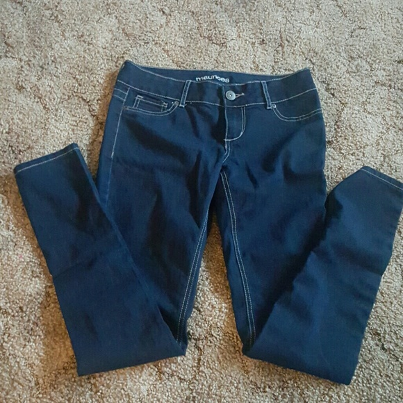 Maurices Denim - Jeggings size small maurices dark wash