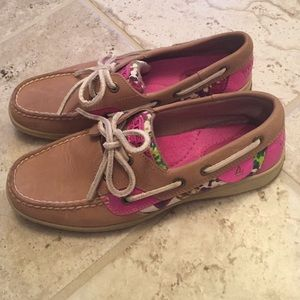 Floral Sperry Boat Shoes