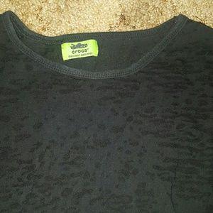 CROCS Tops - Long sleeve  tee shirt animal print xl