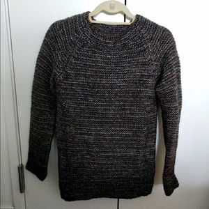 Maje Sweaters - maje metallic chunky knit sweater