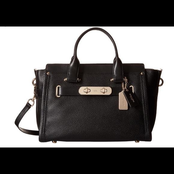 f42eb03a43c0 Coach Handbags - Coach mini swagger 15 crossbody.