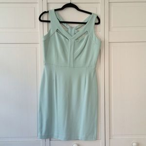 Gianni Bini Dresses & Skirts - NWOT Gianni Bini Baby Blue Cutout/Lace Dress