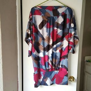 *today sale*NWOT BCBGMaxAzria boatneck tunic
