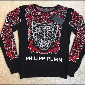 Philipp Plein Sweaters - Philipp Plein sweater Tiger logo