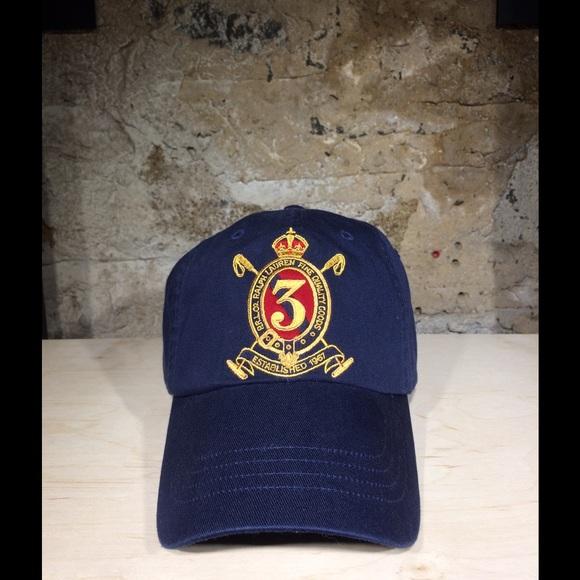 eebe2e2c53c15 Ralph Lauren POLO Cotton Twill Cap (French Navy)