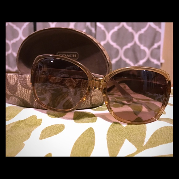 cf8ab6070f47 Coach Odessa S822 Sunglasses. M_58717268bcd4a781f101f7ea. Other Accessories  ...
