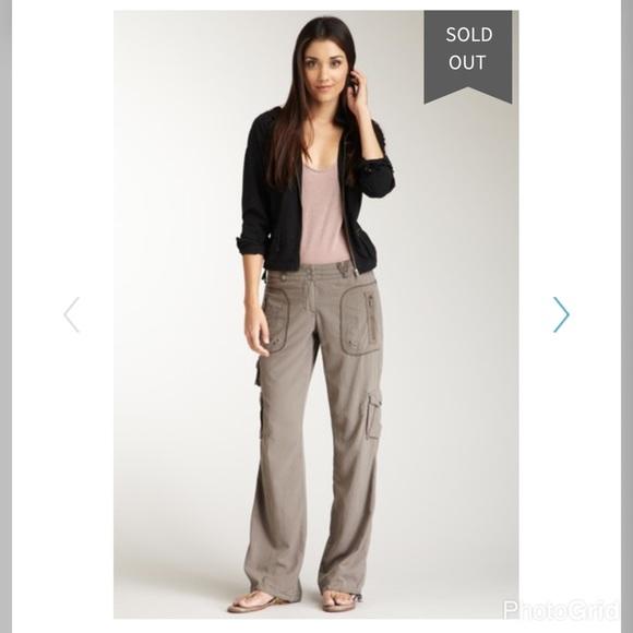 19b51a62600 Da-nang Pants - 💫Sz Medium Da-nang Silk Blend Green Cargo Pants