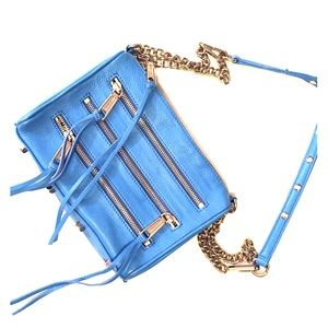 Rebecca Minkoff Light Blue M.A.C Crossbody Bag