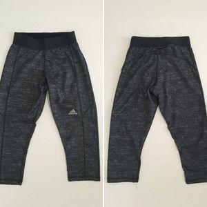 Adidas Pants - [Adidas] women's athletic workout crop pants XS