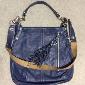 B Makowsky Handbags - BMakowsky Shoulder/Crossbody Leather Bag