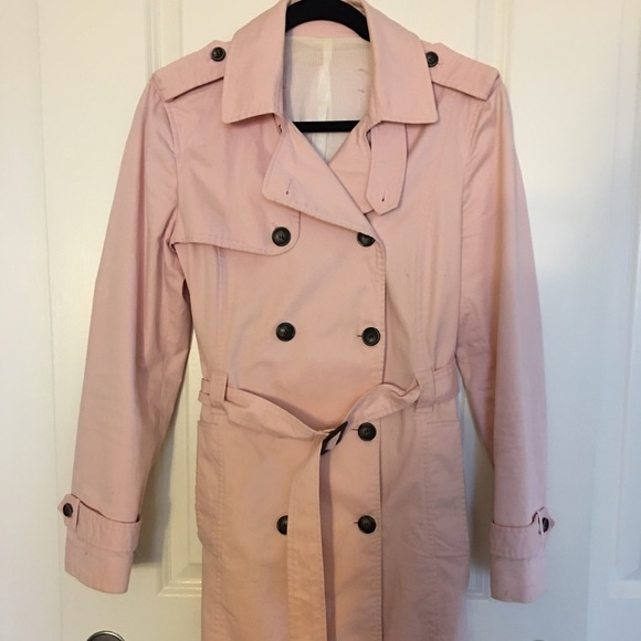 popular design hot-selling quality design Pink Zara trench coat