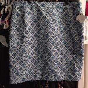 Nordstrom Dresses & Skirts - Halogen blue blue tweed skirt