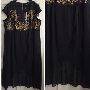 Simply Be Dresses & Skirts - Hi-Lo Maxi Dress