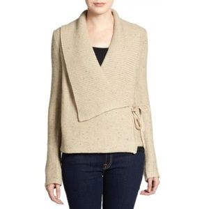 French connection wrap cardigan sweater