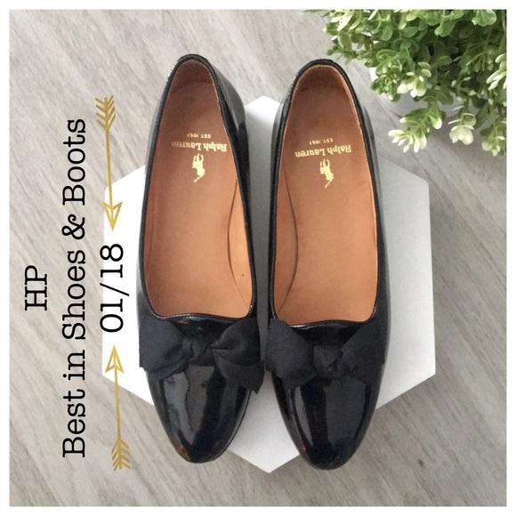 84b99b013a3a1 {Ralph Lauren} 90s Vintage Flats