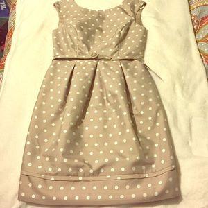 Eliza J Taupe dress size 8