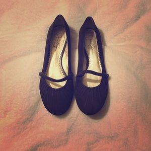 Jessica Simpson size 8 1/2 brown flats