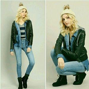 Ambiance Apparel Jackets & Blazers - Leather jacket NWT