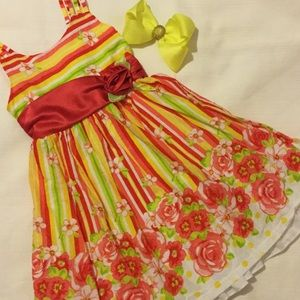 Bonnie Jean Other - 🌺Bonnie Jean lovely flower girls dress size 6 EUC