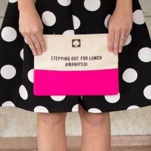 Kate Spade #manipedi clutch