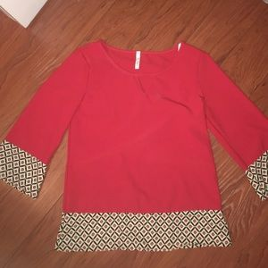 Yoyo Tops - Red Blouse