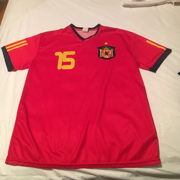 hot sale online 1a252 66f5e Sergio Ramos Spain jersey
