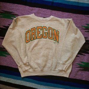 vintage 1990 Oregon sweatshirt