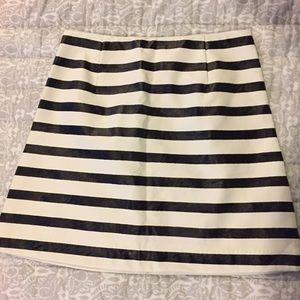 MINKPINK Dresses & Skirts - MINKPINK striped leather skirt