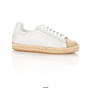 Alexander Wang Shoes - Alexander Wang Rian Leather Espadrille Sneakers