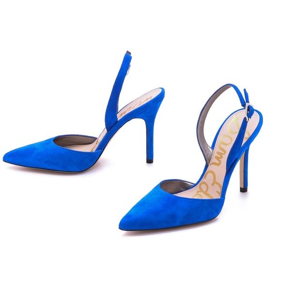 2c174cb2283411 Sam Edelman Dora Pump in Electric Blue. M 58718d22f739bcb3df09cc20
