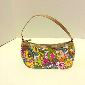 LeSportsac Handbags - Small LeSportSac White & Multi- Color purse / bag
