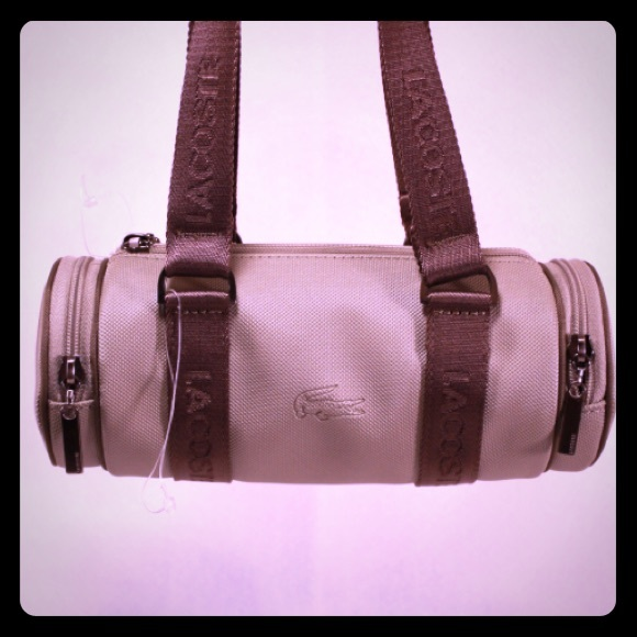 235e6d4c6c30 Lacoste Handbags - LaCoste NWOT Barrel Bag
