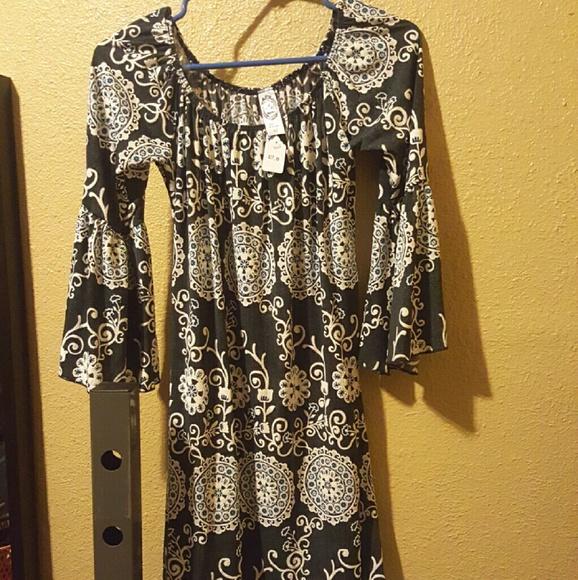 44% off 2B together Dresses & Skirts - 2B together printed dress ...