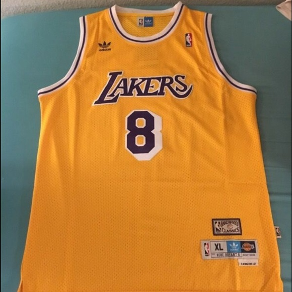 5c5fef16664 Adidas Shirts | Throwback Kobe Bryant 8 Lakers Jersey | Poshmark