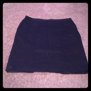 Black pencil skirt Worthington