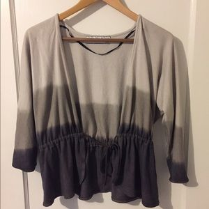 Zara Sweaters - Zara Ombré Grey Shrug