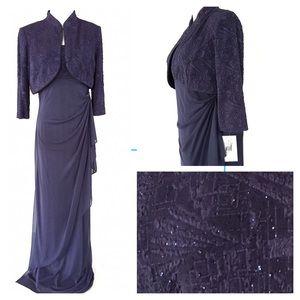 Alex Evenings Dresses & Skirts - Alex Evenings 2pc Formal Gown