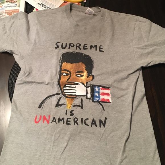 Supreme Other - Supreme is unamerican tee shirt