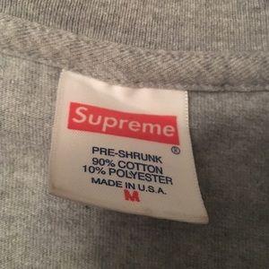 Supreme Shirts - Supreme is unamerican tee shirt