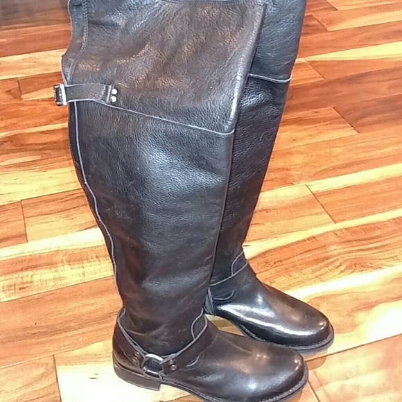 7a4cc7d9c63 Frye Shoes - Frye Veronica OTK over the knee boots 9 black