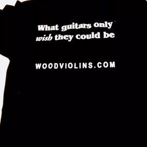 Gildan Shirts - Wood violin tshirt