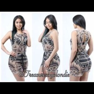 WTD Pants - NWT.. Mesh See Through Romper